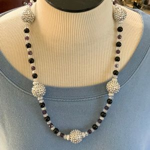 3/$12 Rhinestone Beaded Necklace